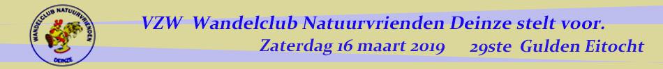 2019 29ste Gulden Eitocht