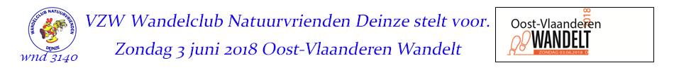 2018 Oost-Vlaanderen-Wandelt